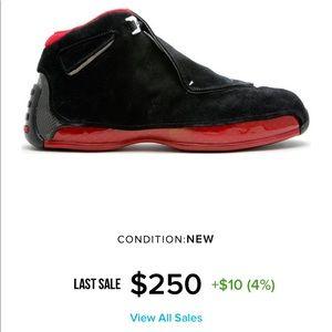 Nike Air Jordan's 18 retro Bred CDP